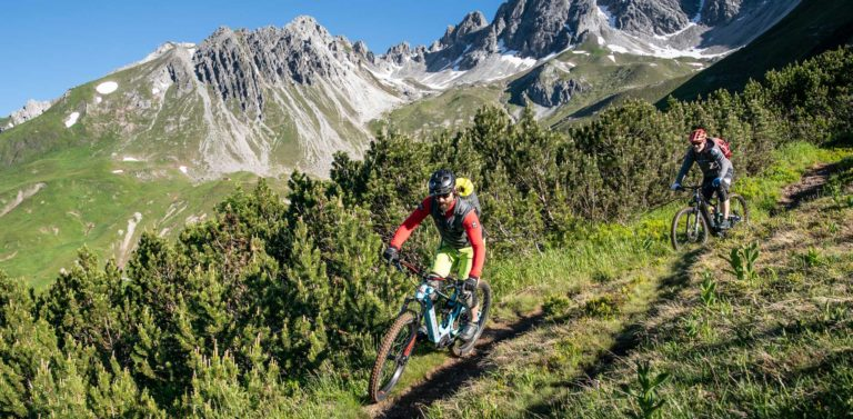 E-Bike-Testing vor traumhafter Kulisse am E-Bike Festival in St. Anton am Arlberg powered by Haibike.
