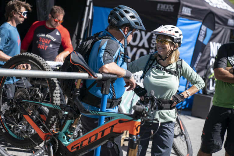 Die neuesten Scott E-Bikes am E-Bike Festival in St. Anton am Arlberg powered by Haibike kostenlos testen.