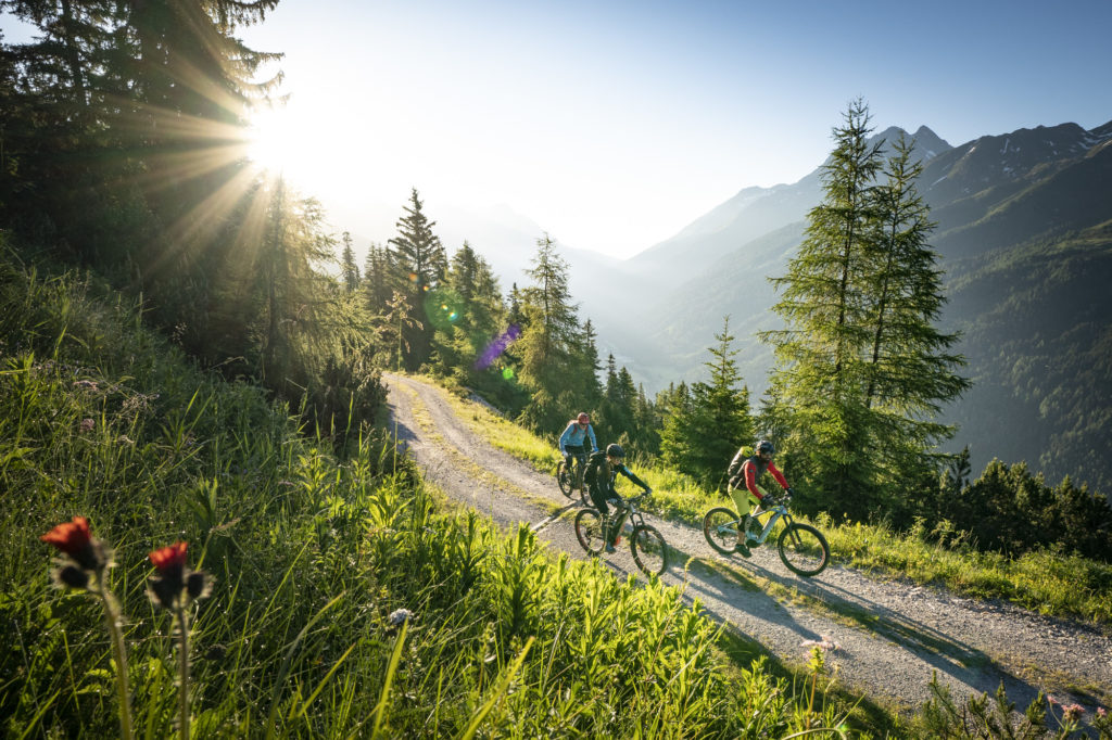Sonnenuntergangstour am E-Bike Festival in St. Anton am Arlberg powered by Haibike.